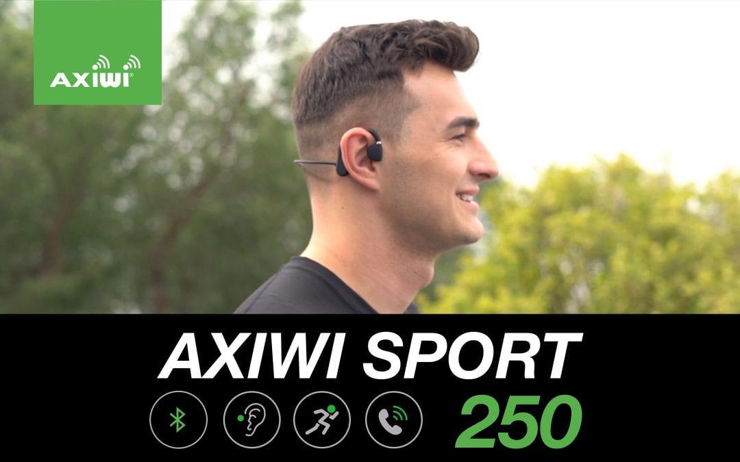 Faites du sport en plein air en toute sécurité avec le casque Bluetooth innovant AXIWI «oreille ouverte»