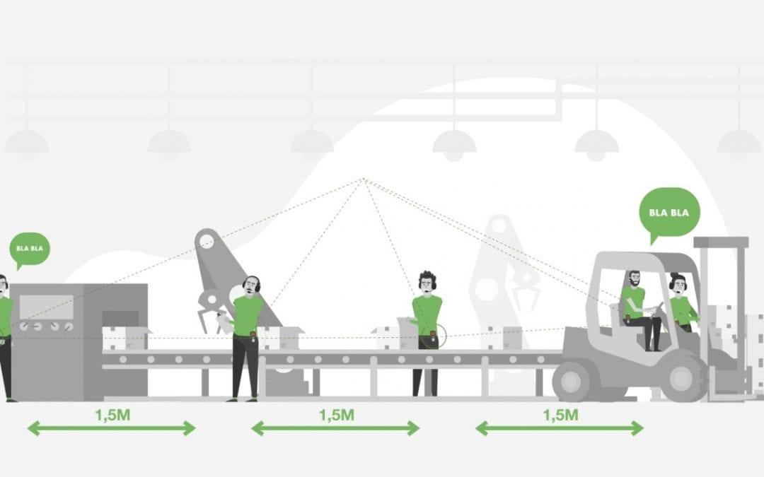Axitour aide les sociétés de production à communiquer sans fil et à l'épreuve d'épidémie du Corona avec AXIWI